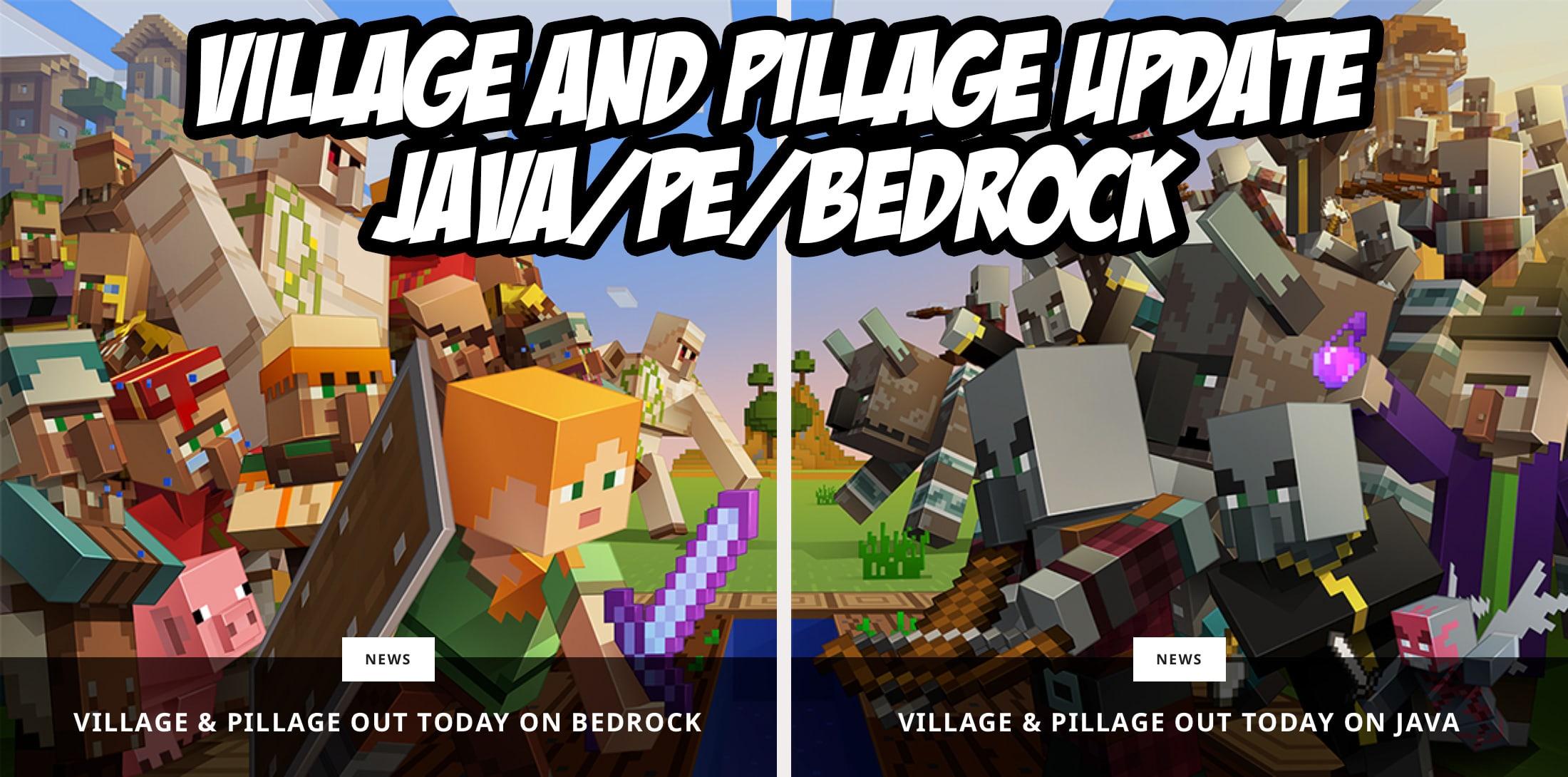 minecraft 1.14 download village and pillage
