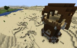 Minecraft Pillager Outpost Seed - Java 1.14