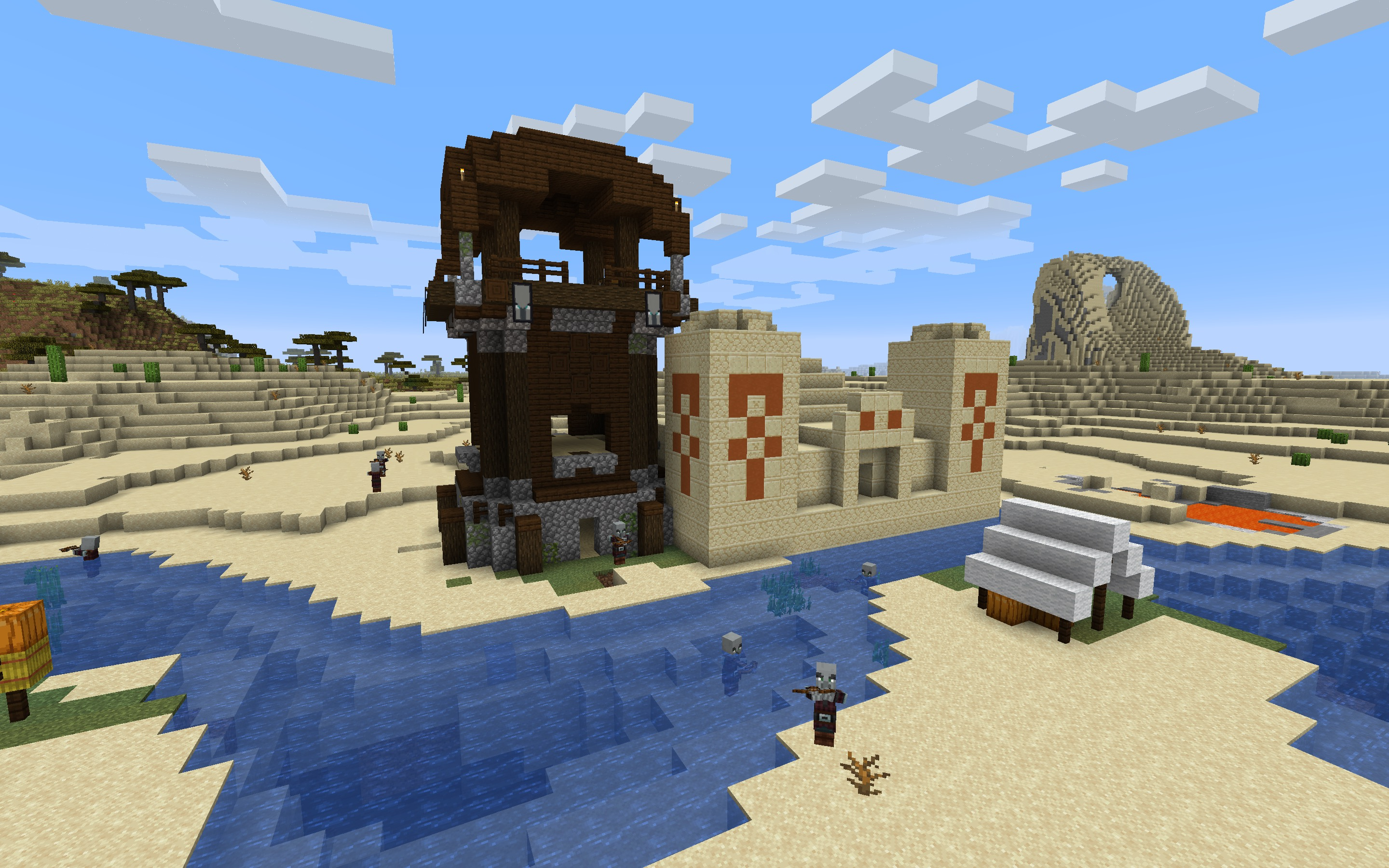 Pillager Outpost Minecraft Seed - Java