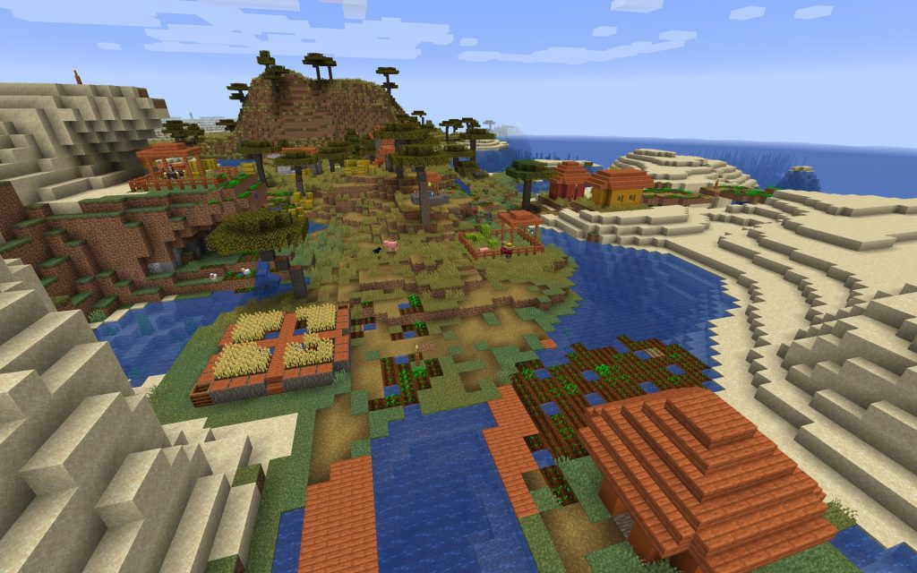 Savanna Village Oceanside Spawn