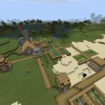 Bedrock Seed: Village over Stronghold