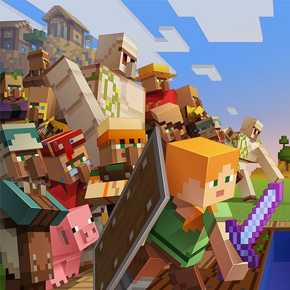 Village Pillage Update for Minecraft