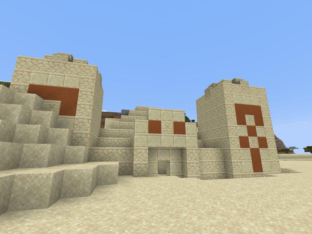 Desert Temple/Pyramid