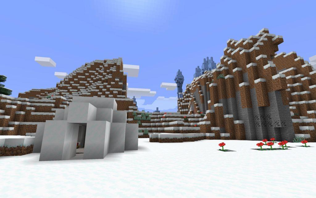 Igloo and Ice Spike Biome