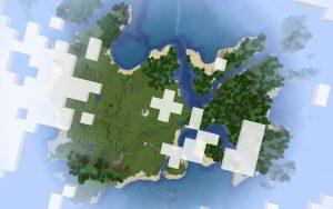 Minecraft Seed - 1.14 - Massive Island