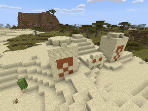 Minecraft Seed - Desert Temple/Pyramid