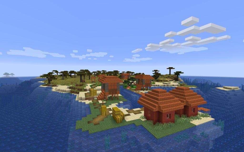 Impressive Loot Pull – Minecraft Island Seed for 1.14+