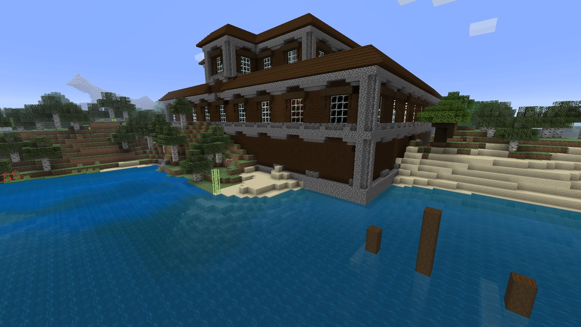 Minecraft PS4 Mansion Seed