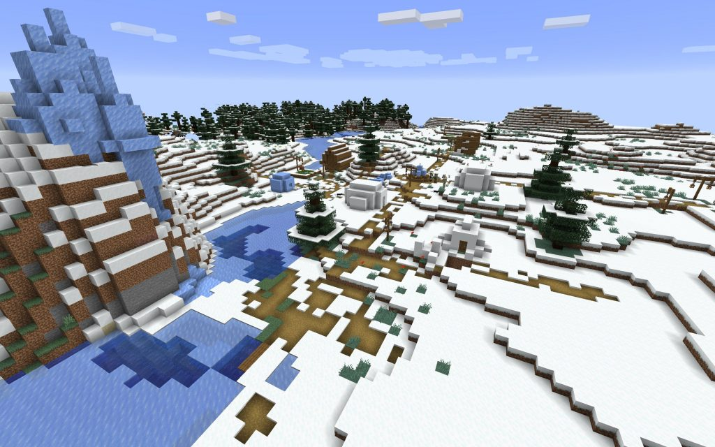 Second Snow Village
