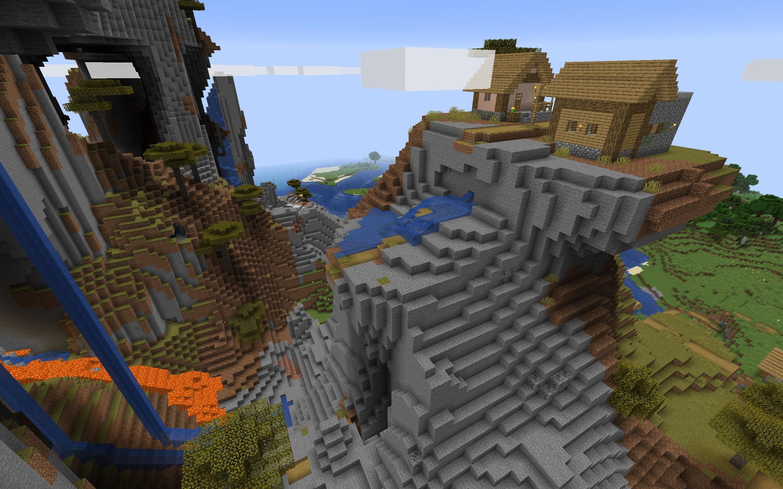 Shattered Savanna Village Minecraft Seed