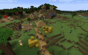 Minecraft 1.14 Seed - Forest Village Zombie