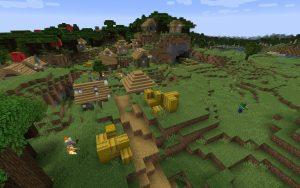 Minecraft 1.14 Seed - Forest Village Zombie