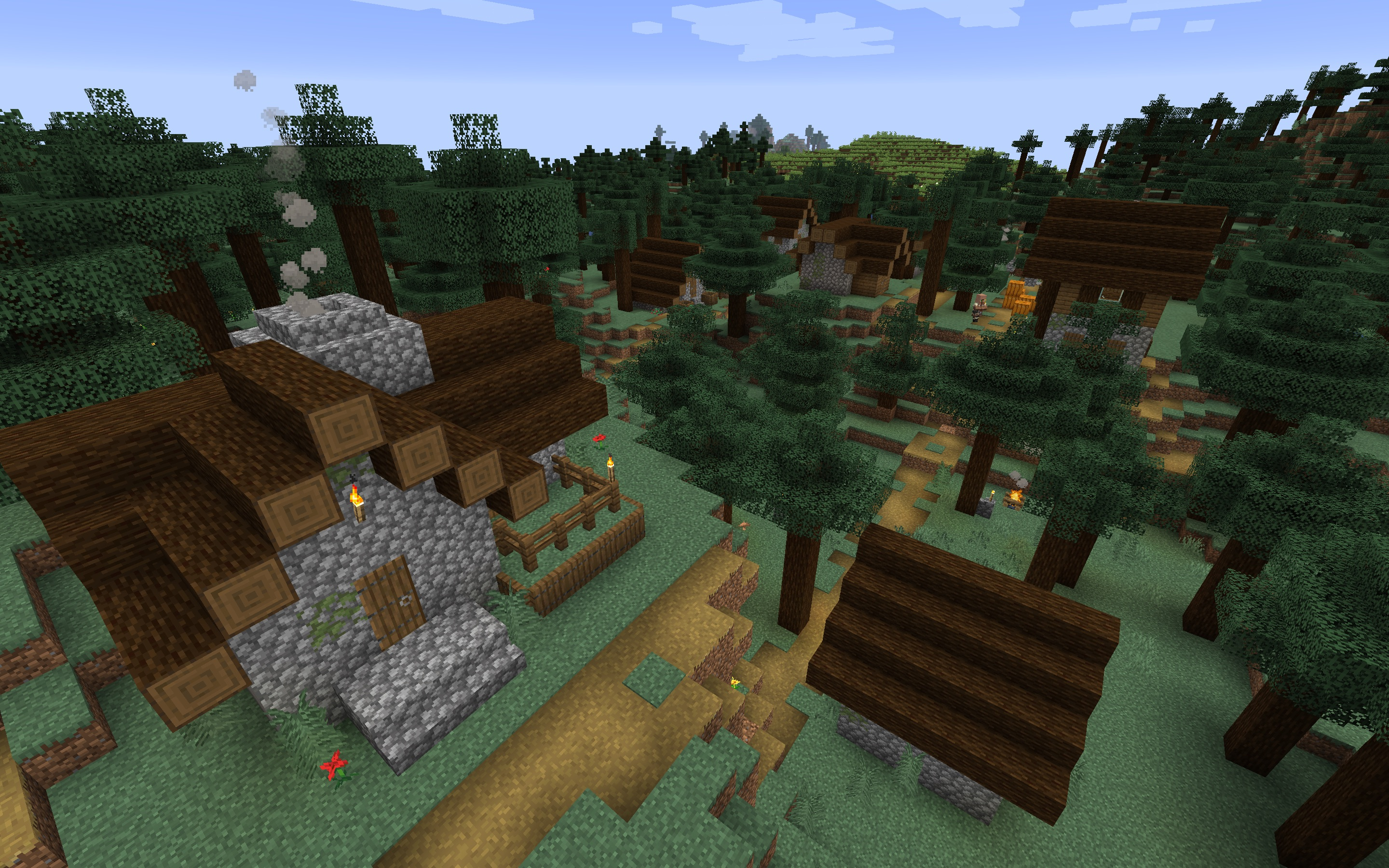 Minecraft Forest Seeds Minecraft Seed Hq