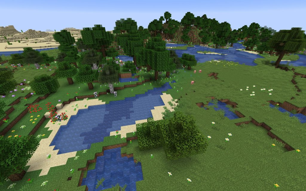 Flower Forest and Plains Biomes