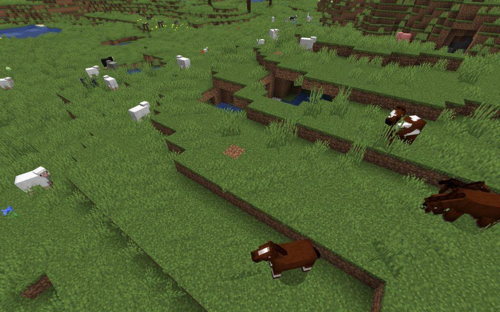 Minecraft Farm Seed - Animals Everywhere