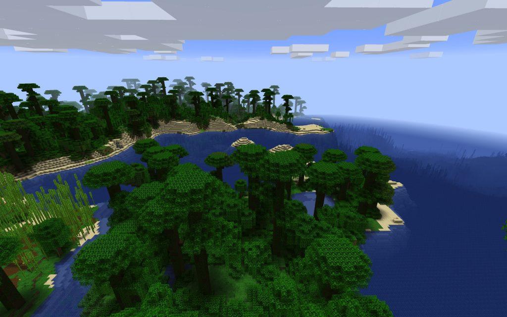Jungle Biome Coast and Beach