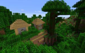 Jungle Village - Minecraft 1.14 Seed