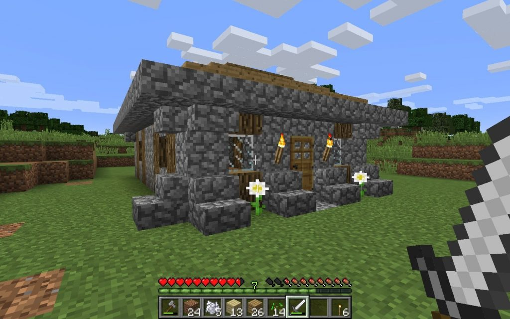 Minecraft House - Outside