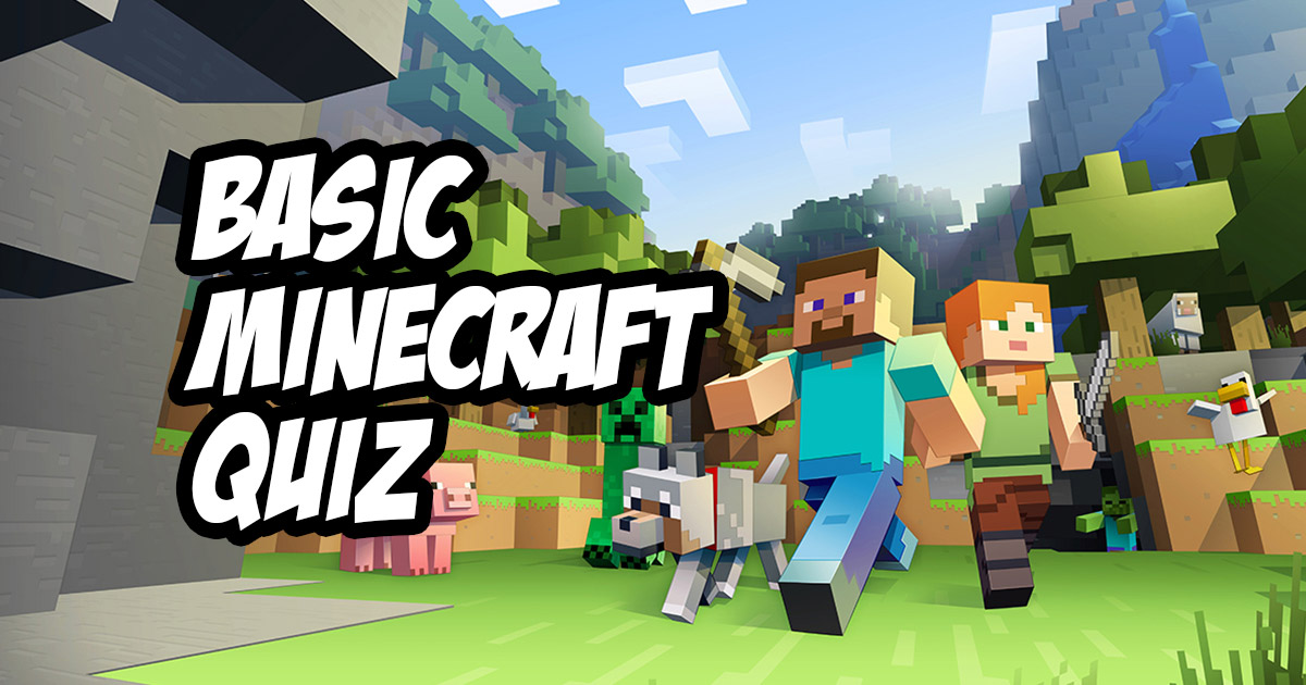 Take the Minecraft Quiz