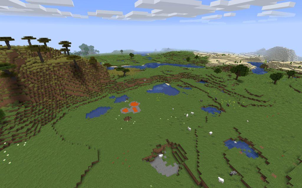 Plains, Savanna and Desert Biomes