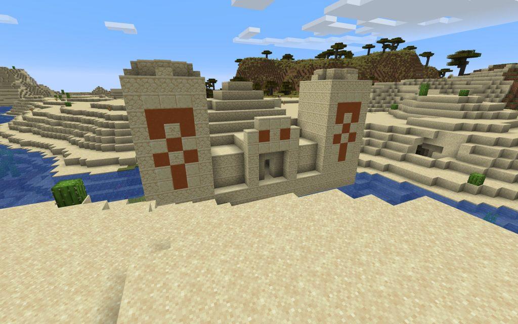 Desert Pyramid/Temple