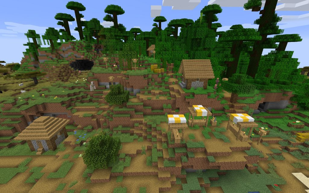 Village in Jungle Biome