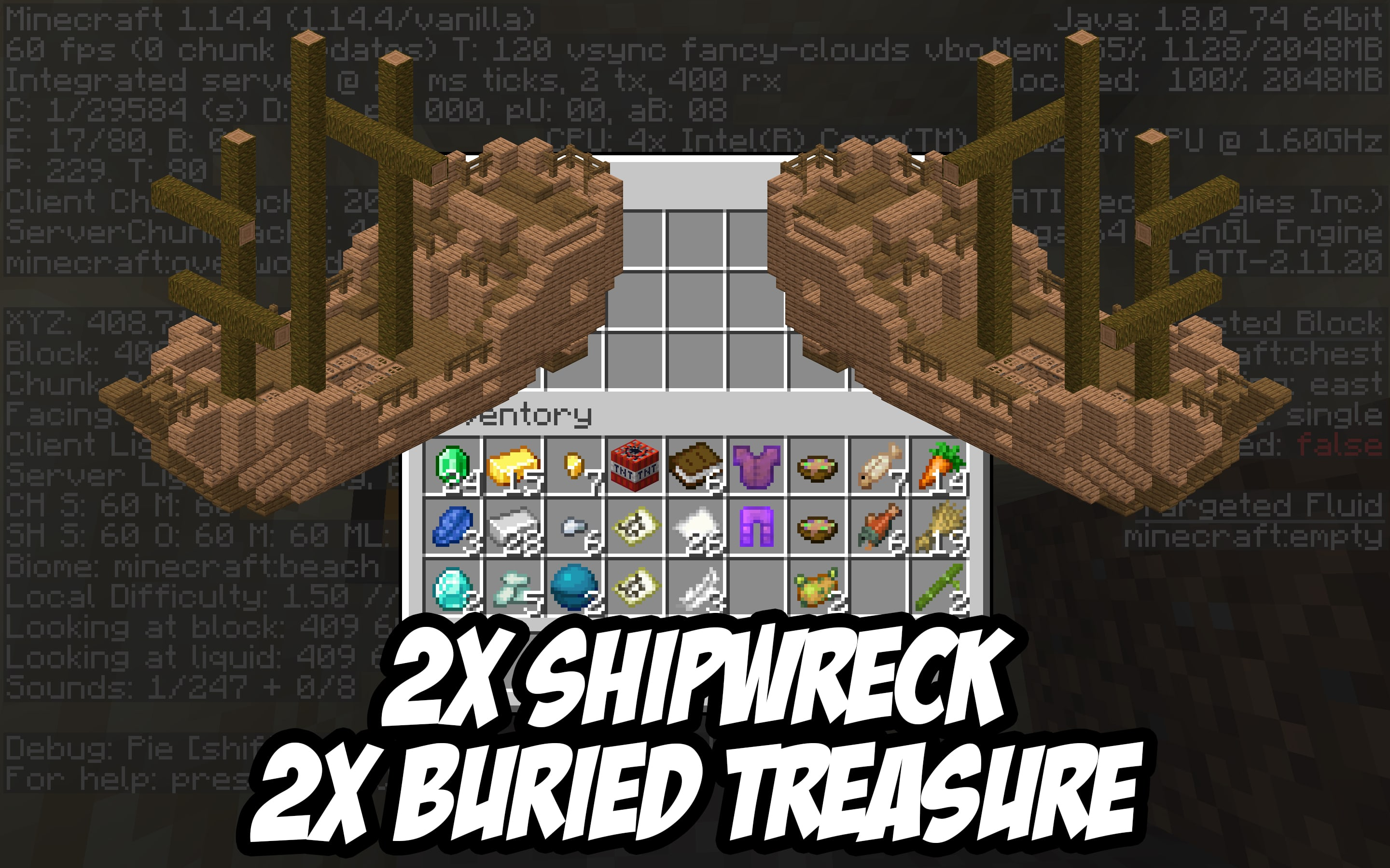 Minecraft Buried Treasure Map Seed