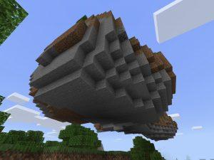 Minecraft PE Floating Island Seed