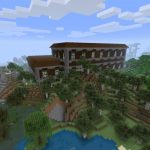 Minecraft PlayStation 4 Seed with Mansion at Spawn