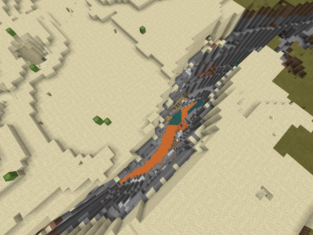 Ravine and Mineshaft
