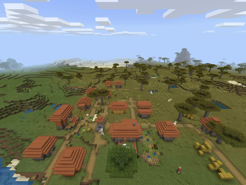 Village to Ravine and Mineshaft