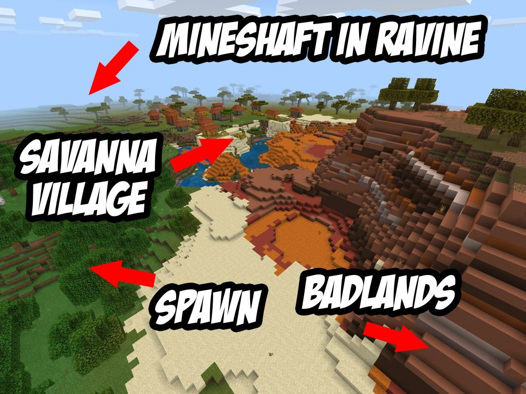 Abandoned Mineshaft Seed for Minecraft PE/Bedrock 1.12