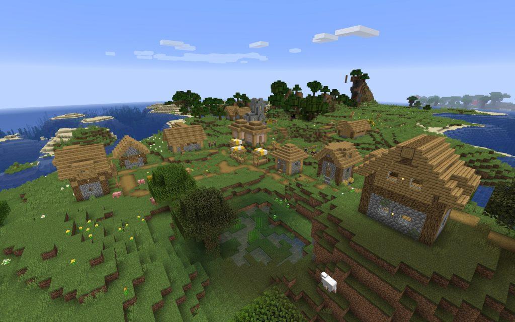 Village Near Spawn