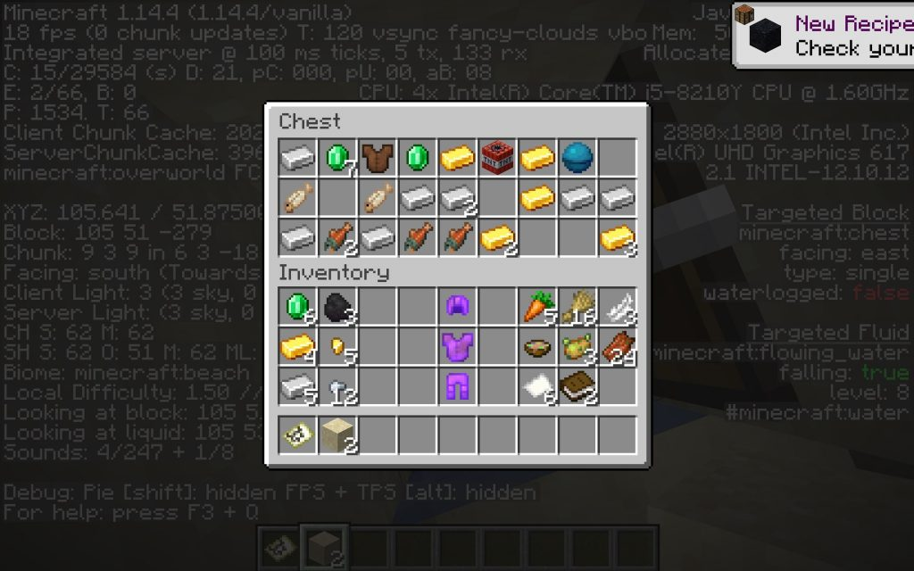 Incredible Loot - Minecraft 1.14 Seed