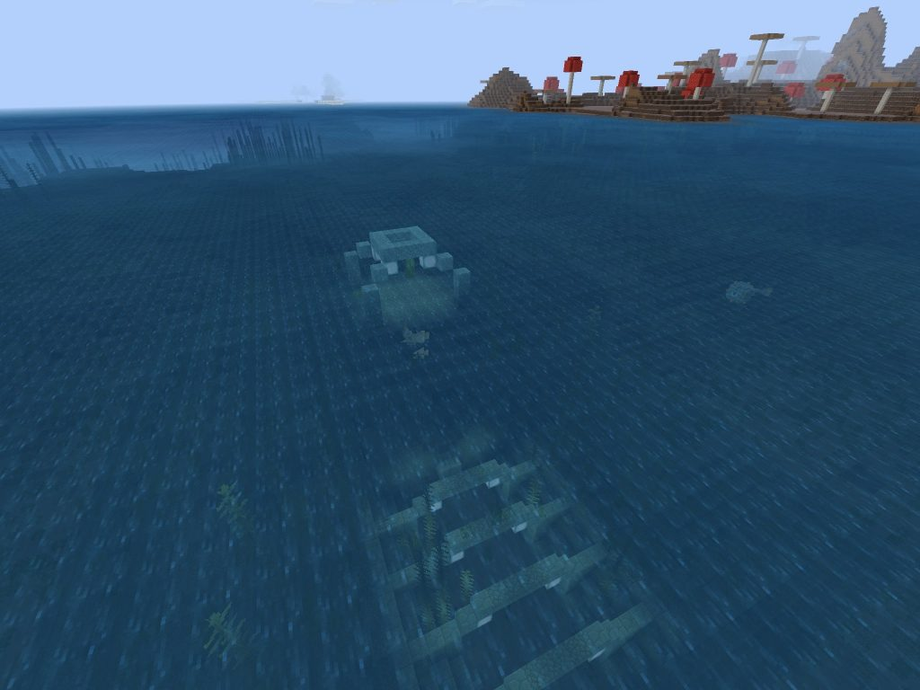 Underwater Ocean Monument