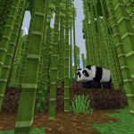 Bamboo and a Panda (Minecraft PE 1.12.1 Seed)