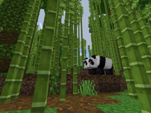 Pandas and Bamboo Minecraft PE 1.12.1 Seed